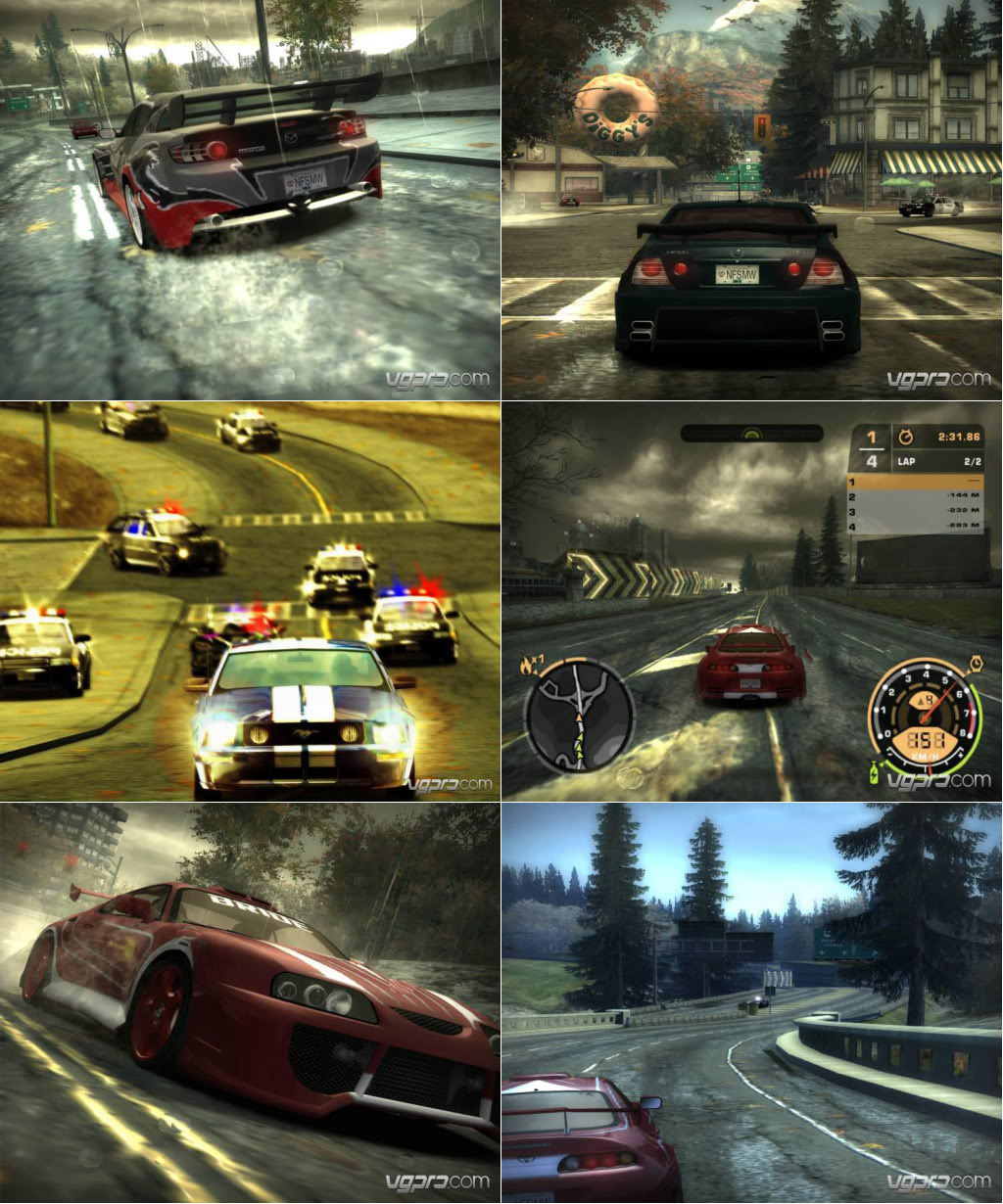Need For Speed Most Wanted -modificat Pentru 2010